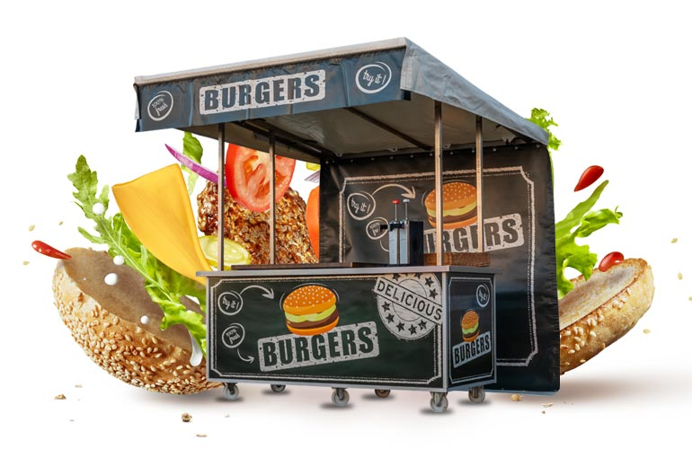 Hamburgerkraam