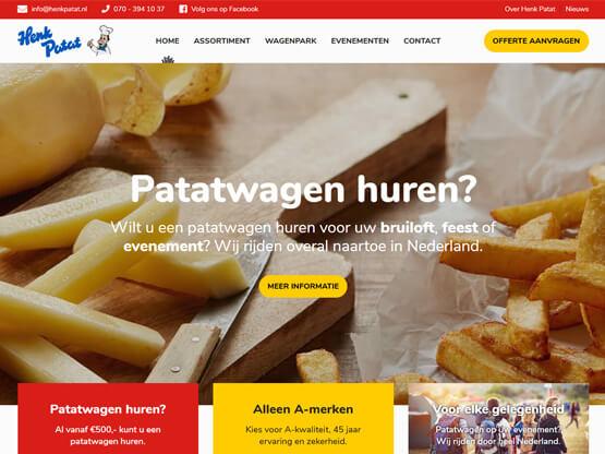 Nieuwe Website Henk Patat
